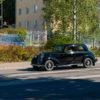 starye avtomobili na ulicah finskih gorodov
